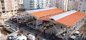 Siverek'te semt pazarı açıldı