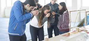 Öğrencilere fındık temalı fotoğrafçılık kursu veriliyor