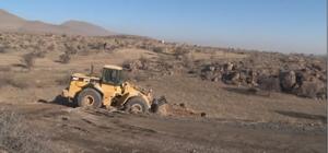 Başkan Karayol çevre yolu çalışmalarını inceledi