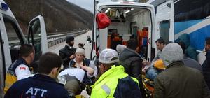 Bursa'da trafik kazası: 1 ölü, 1 yaralı