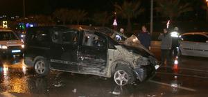 Samsun'da minibüs devrildi: 3 yaralı