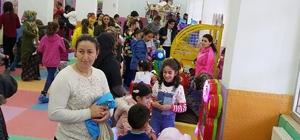 Hakkari'de 'Çocuk Oyun Merkezi'ne yoğun ilgi