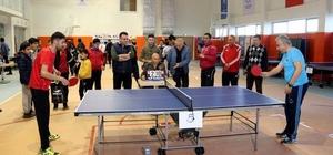 Hakkari'de 'Valilik Masa Tenisi Halk Turnuvası' düzenlendi