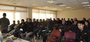 Gümrük personellerine eğitim semineri verildi