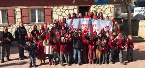 Yakutiye Gençlik Merkezi'nden köy okullarında çocuklarla  'Değerler Eğitimi ve Kitap Söyleşileri'