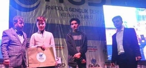 Çavdarhisar Ortaokulu öğrencisi Siyer-i Nebi Yarışması'nda 4. oldu