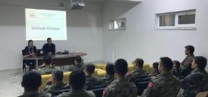 """Hava Radar Üssü'nde görevli askere """"İntiharı Önleme"""" eğitimi"""