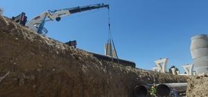 MESKİ, Liman-Hal Köprülü kavşağındaki çalışmalarını tamamladı