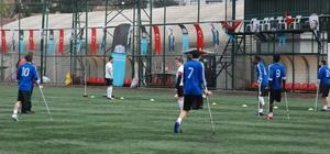 Beşiktaş Belediyesi engelliler için sahaya çıktı