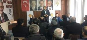 Milletvekili Mustafa Şükrü Nazlı Çavdarhisar'da yatırımları yerinde inceledi