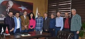 Merkez ilçe belediye başkanları EGC'deydi