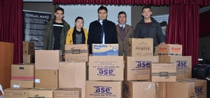 Milas'ta kış mevsiminde yürekleri ısıtan proje