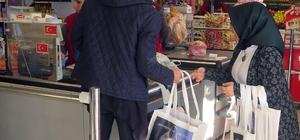 Sapanca MYO'dan bez çanta projesi