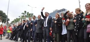 Başkan Tuna, 'Zafer Yürüyüşü'ne destek verenlere teşekkür etti