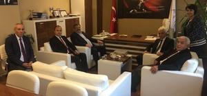 Çaturoğlu, Rektör Azar ile Alaplı MYO'yu ziyaret etti