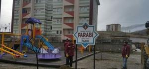 Seydişehir'de 45 parkın tabelası takıldı