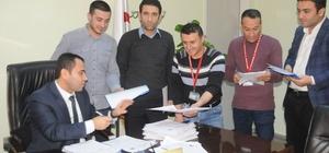 Cizre'de taşeronların kadroya geçişi için başvurular başladı