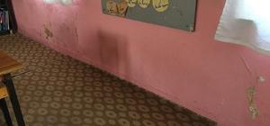 Siverek'te okullar onarılıyor