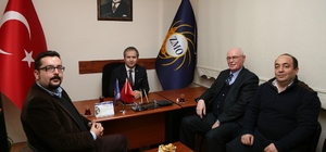 Başkan Kurt'tan Odunpazarı Ziraat Odası ve Ziraat Mühendisleri Odasına teşekkür ziyareti