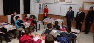 Başkan Avcı okul ziyaretlerini sürdürüyor
