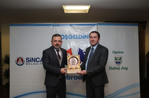 Sincan'dan Bosna'ya uzanan kardeşlik eli