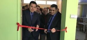 Bahçesaray'da okul ve kütüphane açılışı