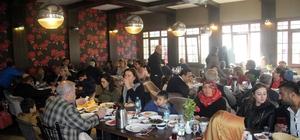 ADD üyeleri kahvaltıda bir araya geldi