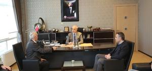 Başkan Kösemusul, SAMİKOP yönetim kurulu başkanını ağırladı