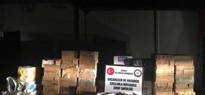 Van'da kaçak sigara ve nargile tütünü operasyonu