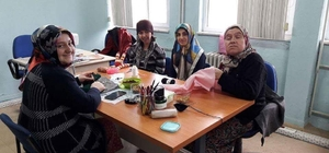 Çavdarhisar'da engelliler için el sanatları kursu