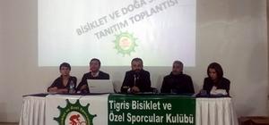 Tigris Bisiklet Kulübü, 2018 yılı faaliyetlerini tanıttı