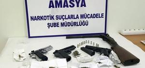 Amasya merkezli uyuşturucu operasyonunda 10 tutuklama