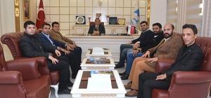 Ak Parti MKYK üyelerinden Başkan Atilla'ya ziyaret