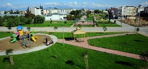 Kepez'den Altınova Orta Mahalleye semt parkı