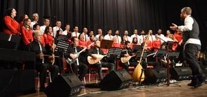 Türküler ile yeni yıl konseri
