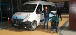 Turgutlu'da engelsiz yaşam aracı 40 bin kilometre yaptı