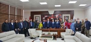 Çaturoğlu'ndan Başkan Uysal'a ziyaret