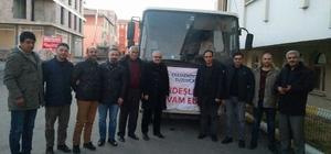 Çekmeköy Belediye Başkanlığın'dan kardeş Tuzluca Belediyesi'ne yardım eli