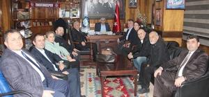 CHP merkez ilçe yönetimi GMİS'İ ziyaret etti