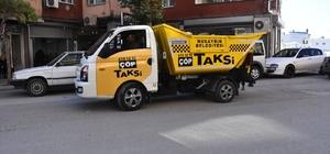 """Nusaybin'de """"çöp taksi"""" uygulaması"""