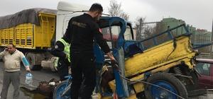 Konya'da trafik kazaları: 1 ölü, 2 yaralı