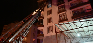 Şanlıurfa'da apartman dairesinde yangın