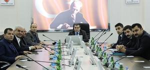 Ziraat Oda Başkanları, DSİ'den bilgi aldı