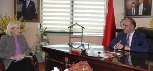 ABD Adana Konsolosu DTB'yi ziyaret etti