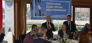 Başkan Akgün, gazetecilerin gününü kutladı