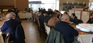 Başkan Dr. Şadi Yazıcı, gazetecileri ağırladı