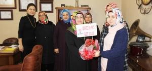 AK Parti Osmaneli Kadın Kolları Gazeteciler Gününü kutladı