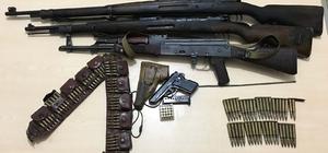 Bitlis'te PKK'ya ait silah ve mühimmat ele geçirildi