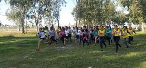 Osmaniye'de Okullar Arası Kros Yarışmaları yapıldı