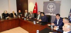 AK Parti Ortahisar ilçe başkanı Altunbaş'tan, Büyükşehir ve Ortahisar belediyelerine ziyaret